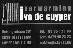 Verwarmingen Ivo De Cuyper